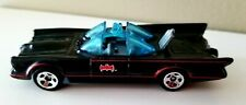 Hot Wheels Batman DC Comics s06 Batmobile Bat Sign Red Pin Stripes Blue Tints
