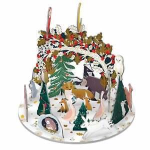 Roger la Borde Pop & Slot Paw Prints In The Snow Advent Calendar