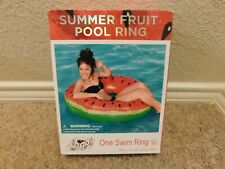 New listing Brand new in the box Bestway H2O Go! Summer Fruit Watermelon pool swim ring