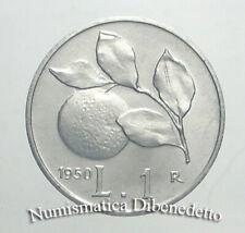 Repubblica Italiana - 1 Lira Arancia dal 1948 al 1950 da BB a FDC