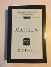 Tyndale New Testament Commentaries: Matthew R. T. France paperback book 1