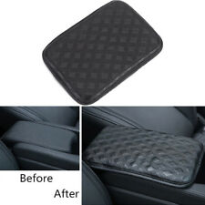 Universal Car Armrest Pad Cover Center Console Box Leather Cushion Armrests Pad
