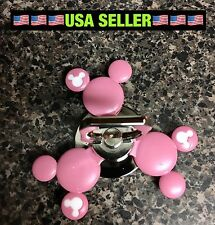 2017 NEW Pink Minnie Mouse Fidget Spinner Ring Phone Stand 🇺🇸US Seller