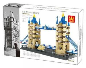 Wange Tower Bridge of London Architecture building bricks set 1033 pieces in UK