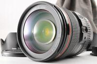 【TOP MINT】CANON EF 24-105mm F/4 L IS USM ZOOM AF Lens +EW-83L Hood Caps Case JP