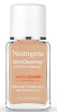 (1) Neutrogena Skin Clearing Oil Free Makeup 105 Caramel EXP 03/19