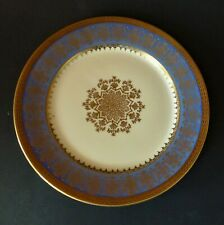 ROSENTHAL PICKARD BLUE AND GOLD EDGE SALAD PLATE