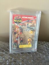 1986 MASK Bruce Sato  and Brad Turner Kenner Stunning AFA 90 MINT Look!!