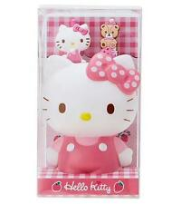 Cute Hello Kitty Pen Pencil Holder Container Office Desktop Organizer c/w 2 Pens