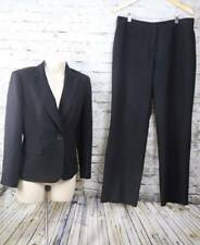 KASPER Black notched Separates Career Blazer 6 Pant 10 (34x29) suit Lined $130