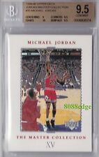 1999-00 UPPER DECK MASTER COLLECTION #15: MICHAEL JORDAN #/500 BGS 9.5 GEM MINT