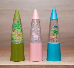 Mini Shake And Shine Glitter Lava Lamp Sparkle Bedside Child's Kids Toy Gift