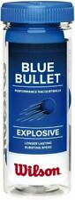 """Wilson Blue Bullet Racket balls """"3 Balls per Can"""