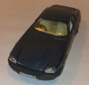 Vintage Corgi Die Cast Jaguar XJS Blue Made In China In Good condition