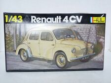 Heller 174 1/43 Renault 4CV Plastic Model Car Kit
