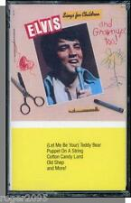 Elvis Presley - Sings For Children & Grownups, Too! - New 1989 Cassette Tape!