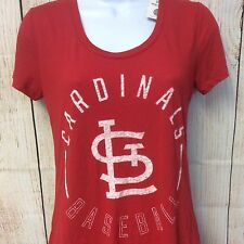 PINK Victorias Secret Cardinals Baseball Shirt Size S Red Limited Edition NEW