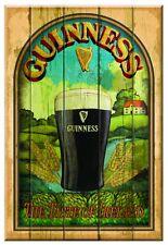 Guinness Taste of Ireland Wooden Wall Art - Bar Sign Decor