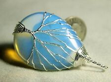 Opalite Rough Wirewrap Pendant,52x30x9mm, 63.79ct,.45oz,(lab)JP-A19