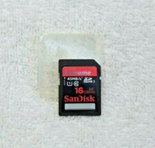 Sandisk Extreme 16GB SD Card 45MB/s Class10