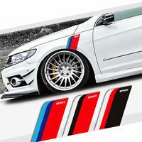 2× Fender Stripes Car Stickers Vinyl Decal 3 Color for Ford BMW Honda VW Toyota