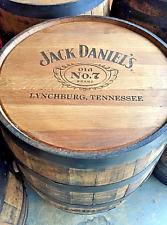 Jack Daniels 53 Gallon Whisky Barrel - American Oak - Authentic Old No. 7 - Beer