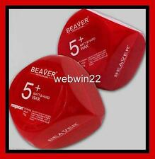 2pcs x BEAVER Matt Hard Wax paste 75g strong hold long lasting hair clay styling