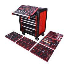 Werkzeugwagen gefüllt mit Werkzeug Werkstattwagen Werkzeugkiste Bestückt