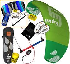 HQ HQ4 Hydra 350 3.5M Water Trainer Kite Kiteboarding Foil +2nd Control Bar Kite