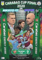 Aston Villa V Manchester City  2020 Carabao Cup Final Programme.