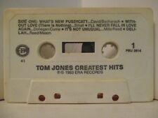 Cassette Era PBU 3914 Vintage TOM JONES & ENGELBERT HUMPEDINCK Greatest Hits 410