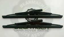 Land Rover Series 2a, 3, Wiper Blades SET, Bearmach Brand, LR009443R, BR3045R