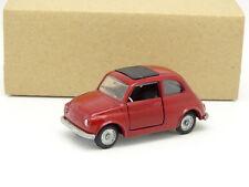 Mebetoys 1/43 - Fiat Nuova 500 Rosso A36