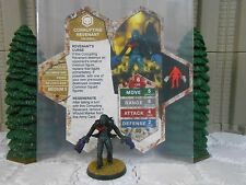 Heroscape Custom Corrupting Revenant Dbl Sided Card & Figure w/ Sleeve Valkrill