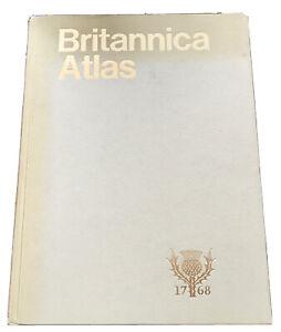 encyclopedia britannica ~ Britannica Atlas, Hardcover, (1980)
