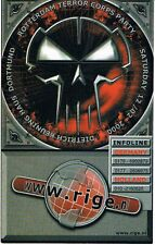 ROTTERDAM TERROR CORPS PARTY Rave Flyer Flyers A6 12/2/00 Dortmund Germany