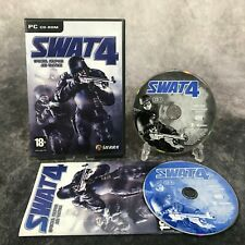 SWAT 4 Special Weapons And Tactics PC Game Complete CD-Rom Sierra Shooter