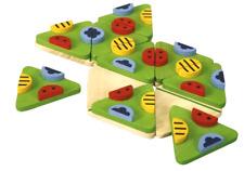 "PlanToys ""trimino bugs"", Holzspielzeug, Lernspiel, ab 3 Jahre, NEU"