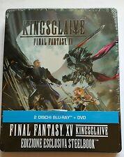 Final Fantasy XV Kingsglaive Blu-Ray Steelbook NEU New OVP Sealed