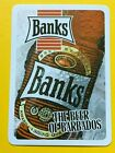 Banks the Beer of Barbados Single Swap Playing Card