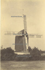 More details for  crowborough beacon windmill 1891 very rare image eyre family mill mead sussex