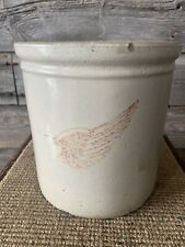 Vintage Red Wing One Gallon Crock
