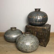 More details for antique indian metal water pot - decorative ornaments - £65 each