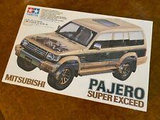 Tamiya 1:24 | FACTORY SEALED KIT | Mitsubishi Pajero Super Exceed