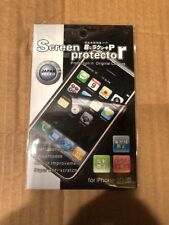 NEW CLEAR SCREEN PROTECTOR FILM FOR APPLE IPHONE 3G 3GS