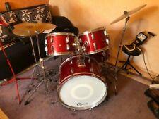 Akustisches Schlagzeug gebraucht (mit Zubehör)