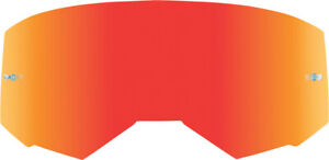 Fly Racing Kids Zone/Focus Goggle Lens | Red Mirror/Smoke (with Tear-Off Posts)