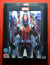 New & Sealed UK Edition Ant Man Steelbook 3D Blu-ray Lenticular Magnet