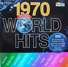 CD : WORLD HITS 1970 (compilation Spectrum Music 1994) comme neuf (as new)