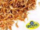 HERONS Natural Dried Shrimp 50g 100g 200g FISH, CICHLID, TURTLE & TERRAPIN FOOD